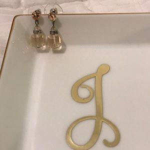 Jewelry - Mini crystal chandelier earrings